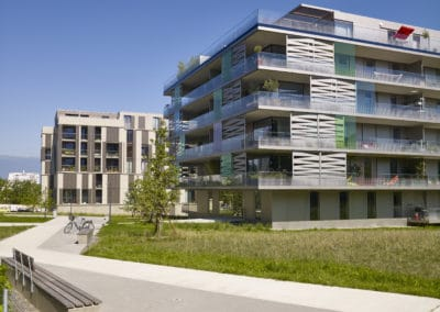 Eco-quartier de la Chapelle à Lancy