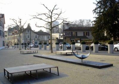 Valorisation des espaces publics du Vieux Carouge