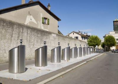Ecopoint Place des Charmettes à Carouge
